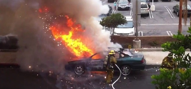 Safety Recall Car Fire