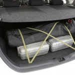 Toyota Corolla Hatch GX - luggage tie down hooks