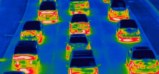 Thermal images show up 'leaky' cars