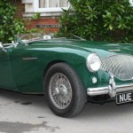 Betty Haig's Austin Healey 100