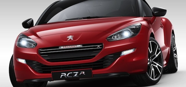 Peugeot RCZ R ... in NZ next April