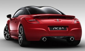 RCZ R gets a wider track