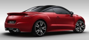 RCZ R rides 10mm lower than the standard car