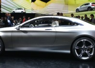 S-Class coupe at Frankfurt motor show in September