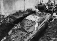 The Dino Ferrari digging in 1978