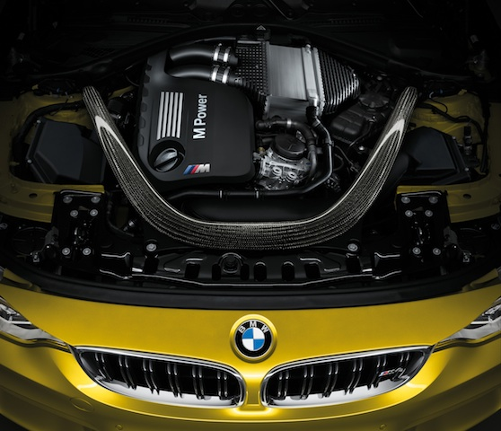 BMW twin-turbocharged 3.0-litre straight-six
