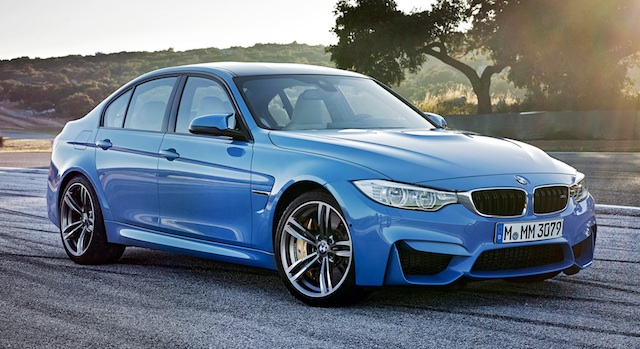 M3 sedan has same sprint time as M4 coupe