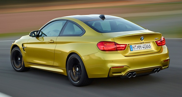 M4 80kg lighter than old M3 coupe