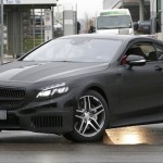 S Class Coupe near Benz HQ in Germany