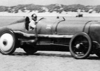 Sir Malcolm Campbell and the Sunbeam in 1924