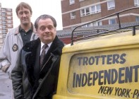 Trotters ... Del Boy and Rodney