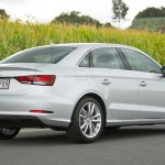 Audi A3 sedan ... 45 litres more boot space than the A3 Sportback