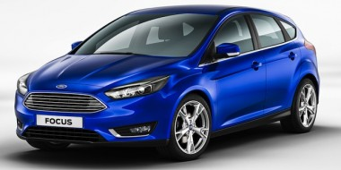 Ford Focus ... Aston Martin-like grille