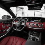 S-Class Coupe ... high quality switchgear