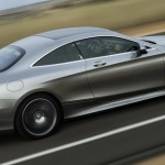 S-Class Coupe ... shorter and lower than the sedan