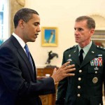 President Obama and General Stanley McChrystal