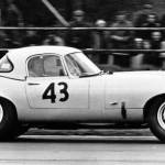 Lightweight E-Type at Silverstone in 1963