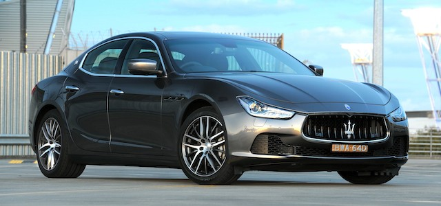 automotive news nz - maserati prices new sedan to take on audi