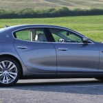 Maserati Ghibli... second in four-door range