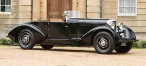 1918 Bentley 8-Litre Sports Coupe Cabriolet by Barker
