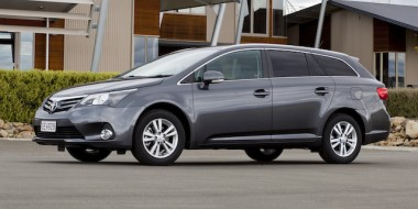 Avensis Tourer in Graphite Building Location