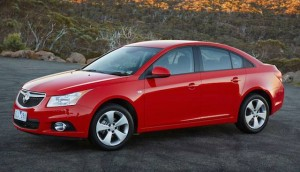 Holden Cruze sedan ... from South Korea after 2017