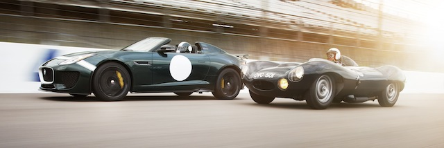 Project 7 and the inspiring D-Type of the 1950s
