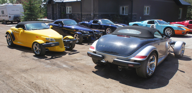 Four Plymouth Prowlers Among The 40 Cars