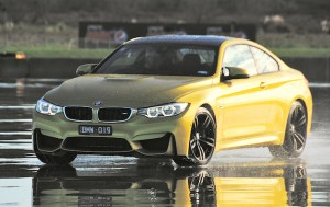 The two-door M4: 23kg lighter than the M3