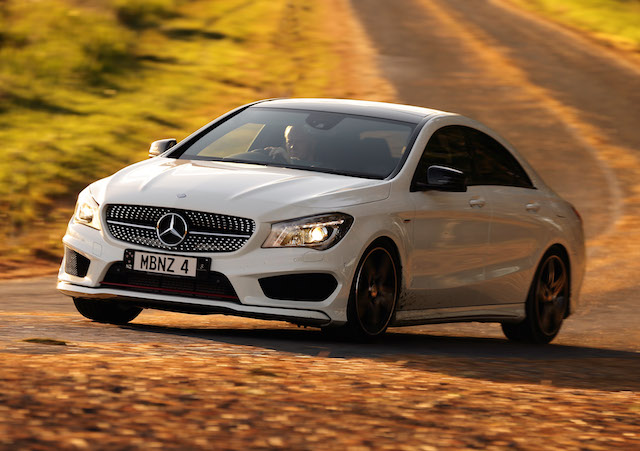 CLA 250 Sport 4Matic sedan made light work of wet and wild weather