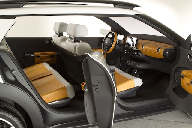 Citroen Cactus designed to create a feeling of space