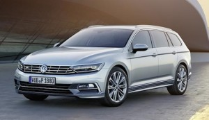 Front end shows new Passat family face
