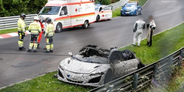 Honda NSX burnt down 02