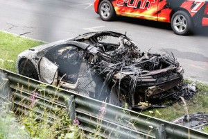 Honda NSX burnt down 04