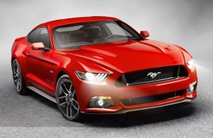The 2015 Mustang GT and its 5.0-litre V8