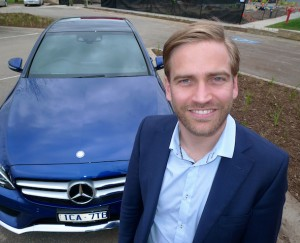Ben Giffin, general manager of Mercedes-Benz NZ