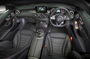 The design and quality of the interior is best feature of C-Class