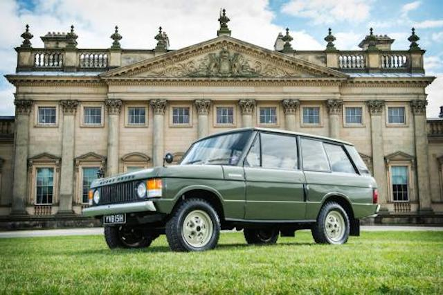 Very first Range Rover is expected to fetch between $200,000 and $300,000 at auction