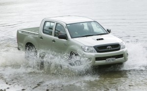 A watery sales grave for Hilux in 2014?