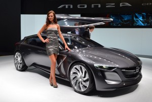 Monza at the 2013 Frankfurt motor show