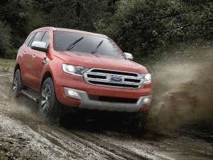 Ford Everest SUV due in NZ next year