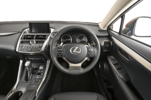 Lexus-NX-300h front from driver's seat