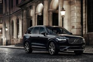 The Volvo XC90, due in NZ next year