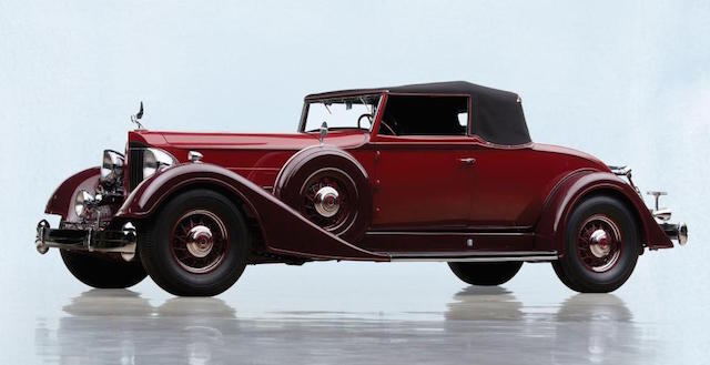 1934 Package Twelve coupe roadster