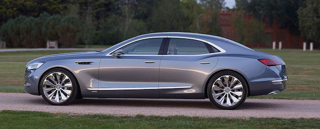 Buick Avenir, a concept that has yet to be confirmed for production