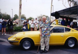 Katayama in later years with the 240Z