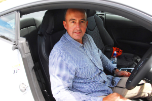 Audi NZ general manager Dean Sheed