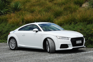 The new Audi TT starts at $91,800 for the front-drive model