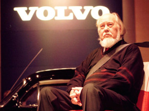 Nils Bohlin, who invented the three-point seatbelt