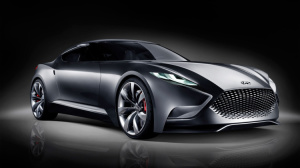 The HND9 coupe unveiled  at the 2013 Seoul motor show